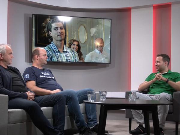Jozef Korbel a Andrej Augustín v relácii Štúdio Športky