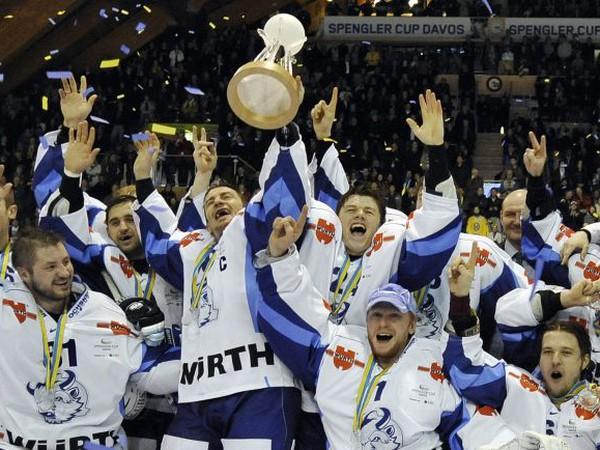 Hráči Dinama Minsk sa tešia z cenného triumfu
