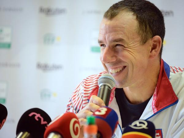 Dominik Hrbatý, nehrajúci kapitán Slovenska