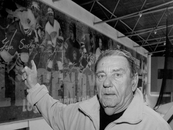 Bývalý český hokejový obranca Jan Suchý,