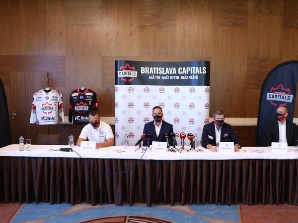 Tlačová konferencia tímu iClinic Bratislava Capitals