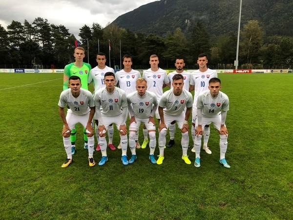Slovenskí mladíci pred súbojom s Lichtenštajnskom