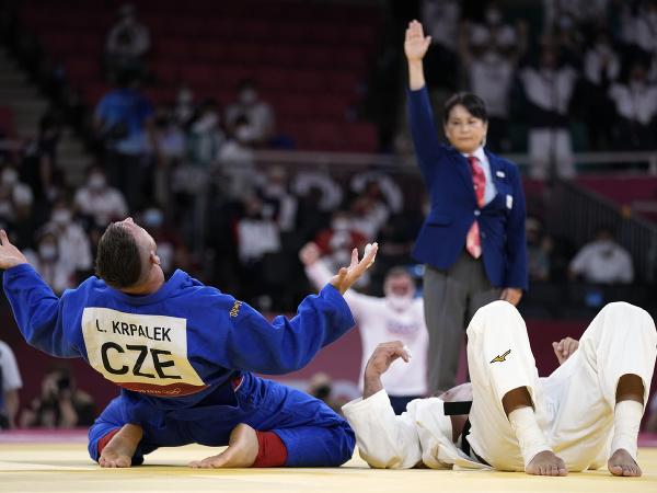 Český džudista Lukáš Krpálek získal druhé olympijské zlato