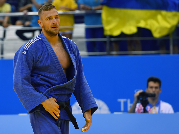 Na snímke slovenský reprezentant v džude v kategórii do 90 kg Peter Žilka