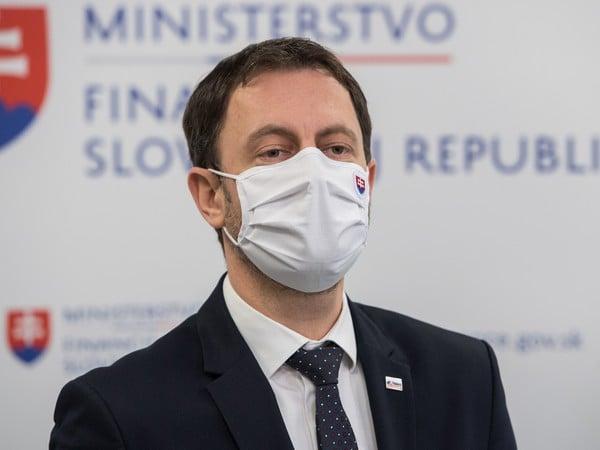 Minister financií SR Eduard Heger