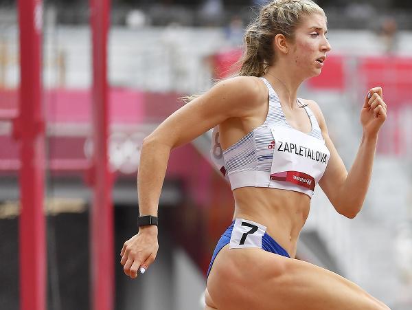Na snímke slovenská atlétka Emma Zapletalová