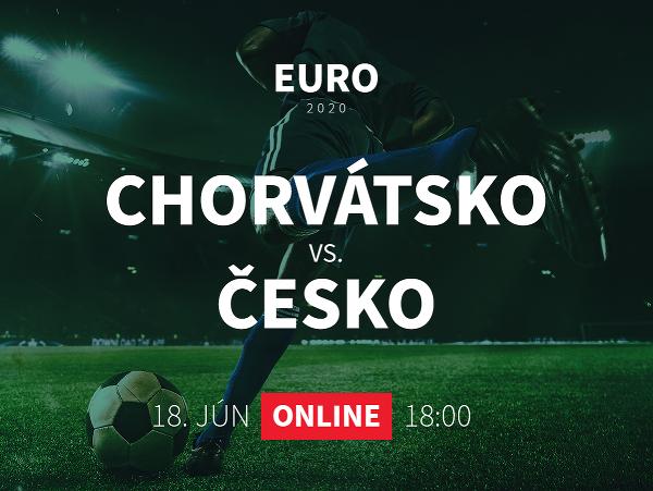Online prenos z EURO 2020: Chorvátsko - Česko