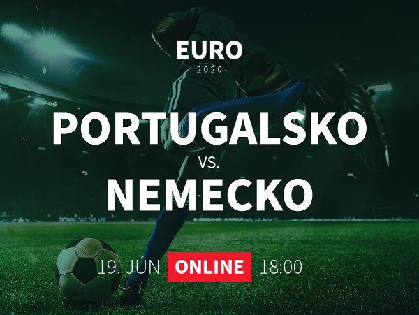 Online prenos z EURO 2020: Portugalsko - Nemecko
