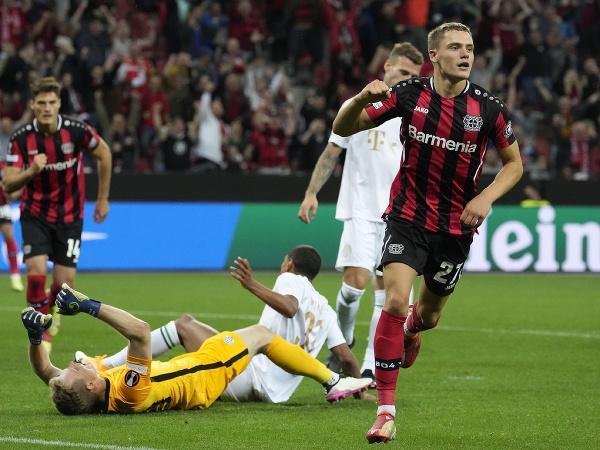 Florian Wirtz a jeho gólové oslavy