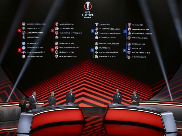 Skupinový žreb Európskej ligy