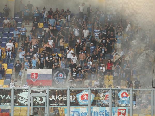Fanúšikovia Slovana Bratislava