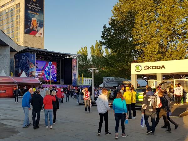 Fanzóna v Bratislave