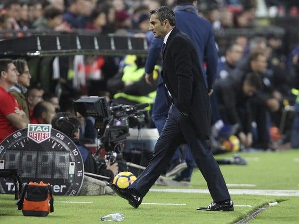 Ernesto Valverde po zápase s Valenciou