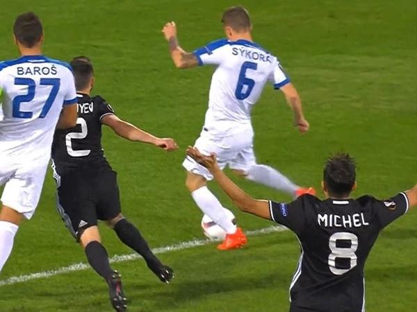 Jan Sýkora strelil najrýchlejší gól Európskej ligy
