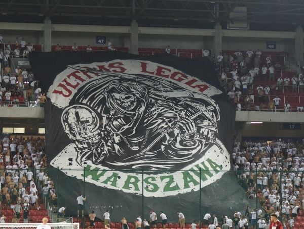 Fanúšikovia Legia Varšava