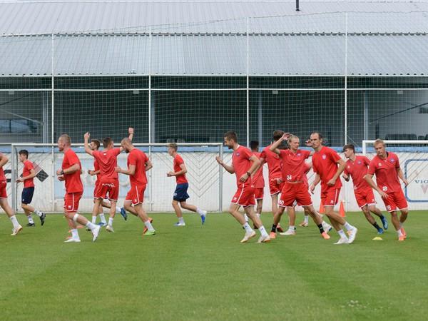 Futbalisti ViOnu Zlaté Moravce