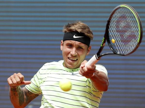 Slovenský tenista Alex Molčan