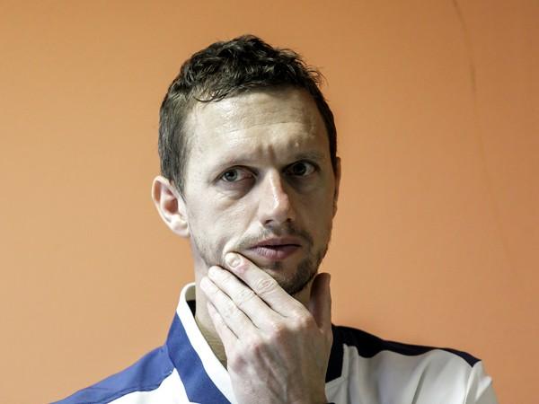 Na snímke slovenský tenista Filip Polášek počas tlačovej konferencie