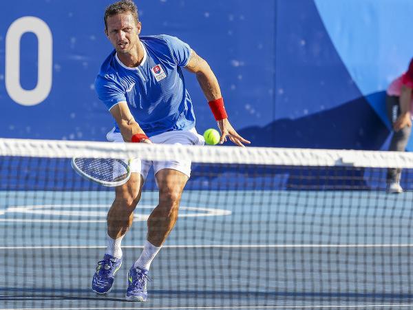 Filip Polášek v zápase štvorhry