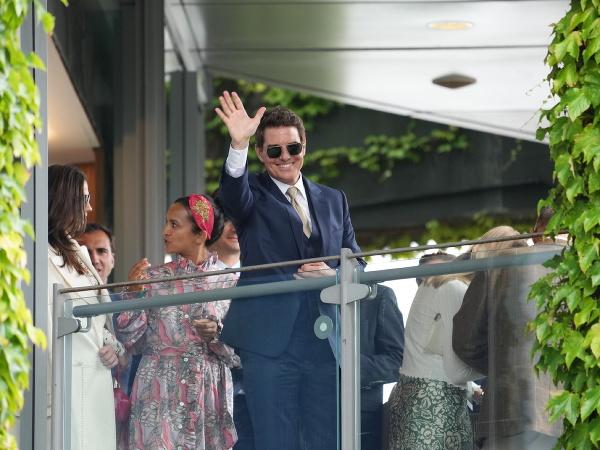 Tom Cruise na wimbledonskom finále žien