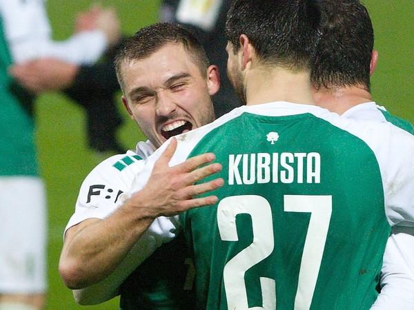 Radosť hráčov FK Jablonec