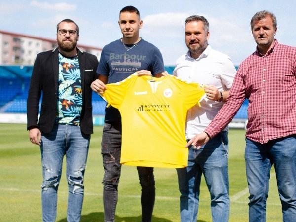 Adrián Slančík sa stal novou posilou FK Senica