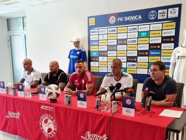 Tlačová konferencia klubu FK Senica