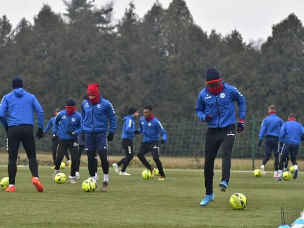 Tréning futbalistov FK Senica