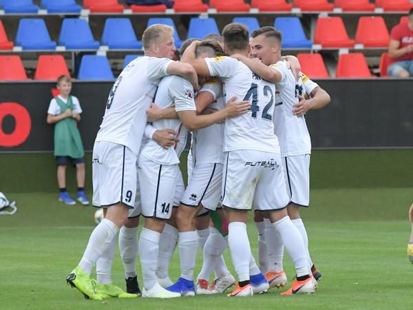 Gólové oslavy futbalistov FC ViOn
