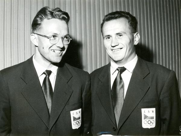 František Reich (vľavo) s