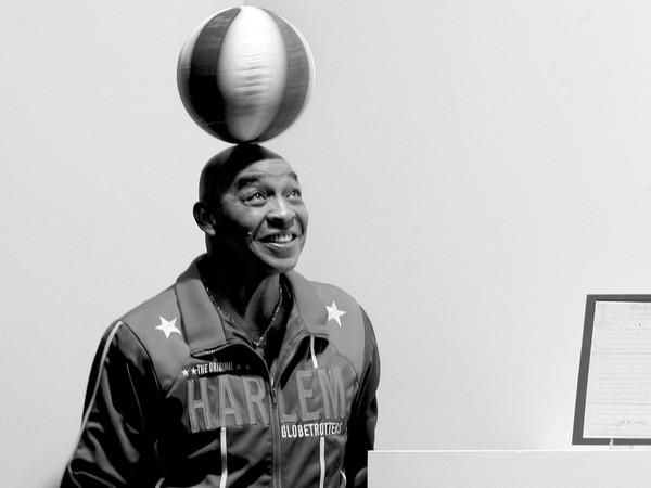 Člen Harlem Globetrotters Fred