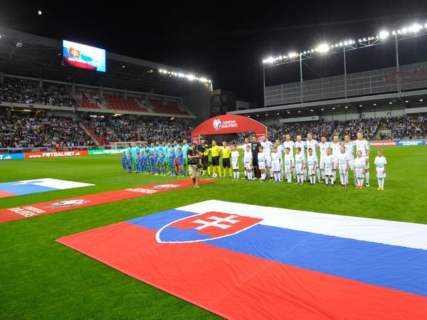 Tímy Slovenska pred kvalifikačným zápasom