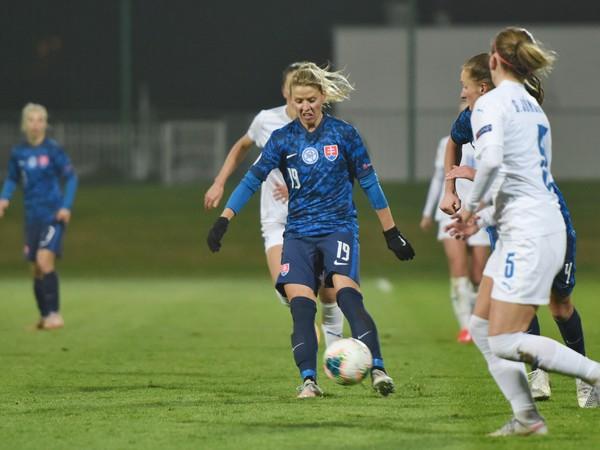 Slovenské futbalistky v medzištátnom zápase