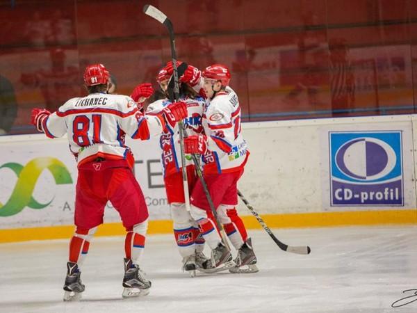 Gólové oslavy hokejistov Liptovského Mikuláša