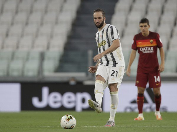 Gonzalo Higuaín v drese Juventusu Turín
