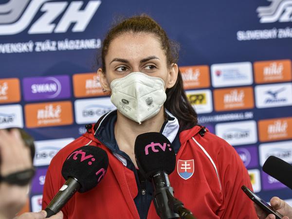 Spojka Marianna Rebičová