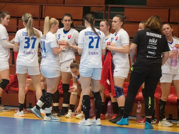 Slovenské hádzanárky po prehre so Srbkami 19:26 v prvom zápase baráže o MS 2021 v Španielsku
