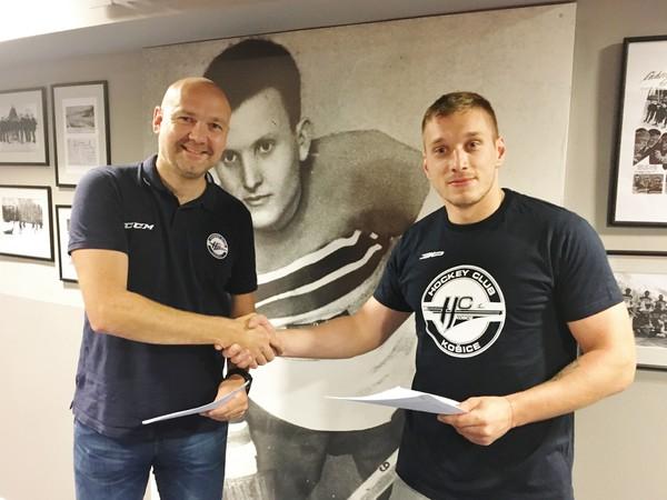 Marcel Haščák podpísal zmluvu s HC Košice