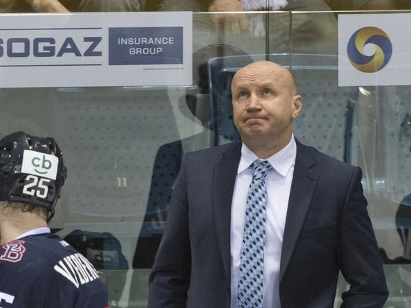 Na snímke tréner Slovana Eduard Zankovec
