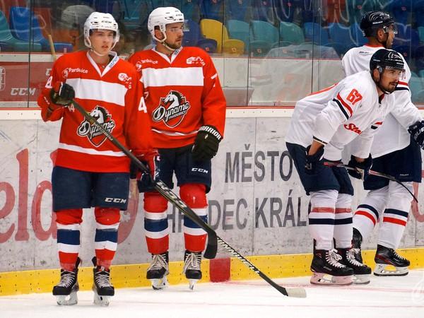 Hráči HC Slovan Bratislava