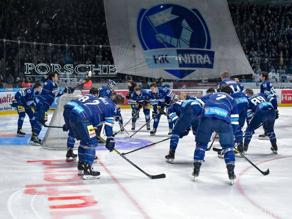 Hokejisti Nitry