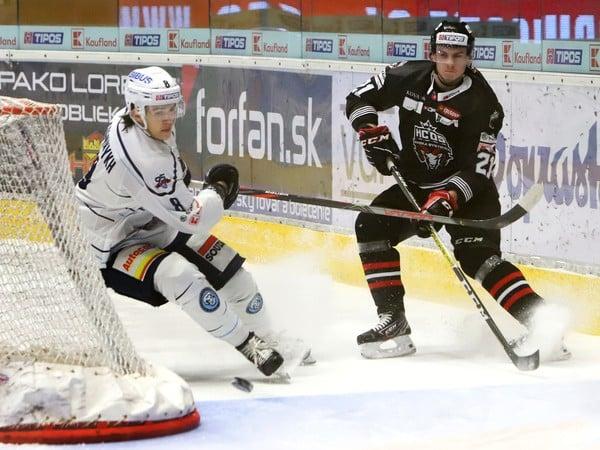 Daniil Fominykh (Nitra) a Adam Žiak (Banská Bystrica)