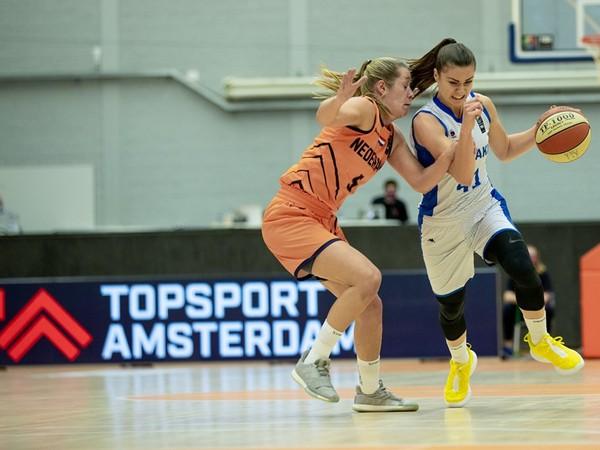 Barbora Bálintová v súboji s Holandskom
