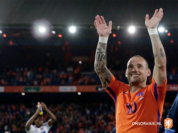 Wesley Sneijder sa stal holandským rekordérom