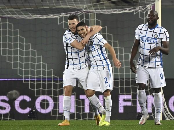 Hráči Interu sa tešia z gólu