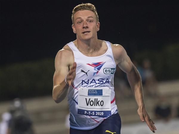 Na snímke slovenský atlét Ján Volko