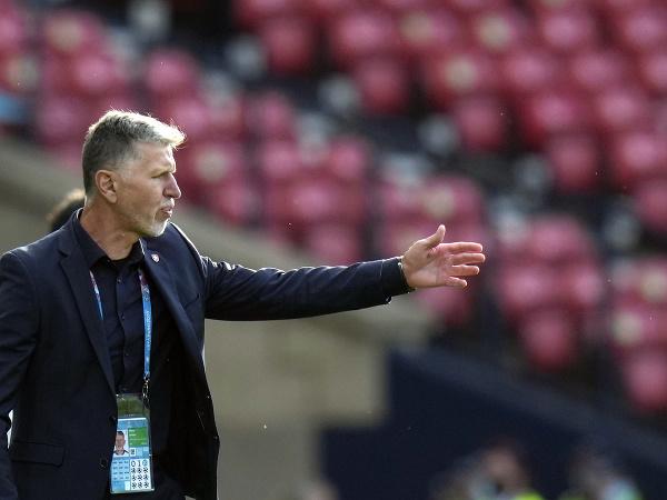 Tréner českej futbalovej reprezentácie Jaroslav Šilhavý