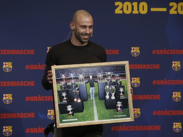 Javier Mascherano sa rozlúčil s Barcelonou