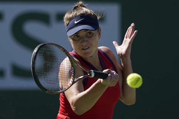 Ukrajinská tenistka Jelina Svitolinová