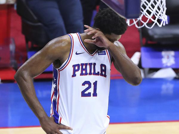 Joel Embiid po prehre svojho tímu Philadelphie 76ers